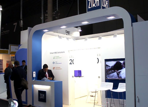 Stand construction MWC Barcelona, booth Barcelona/ Messebau mwc / Construccionde stand mwc