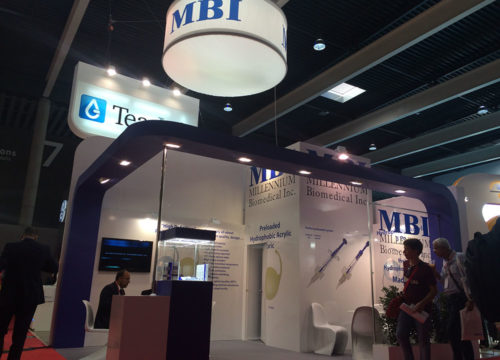 trade show stand MWC Barcelona